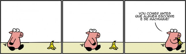 Os Pigs – Casca de Banana