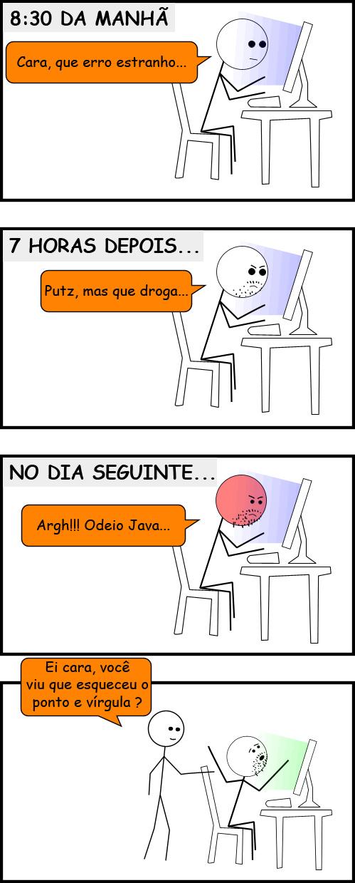 Acontece com todo programador