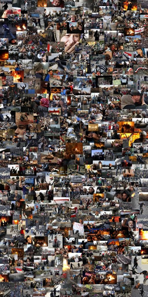 Caos no Egito em 400 fotos